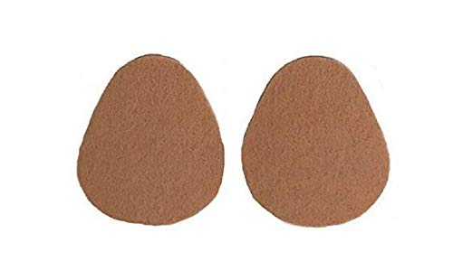 Aetna Felt Metatarsal Pads - Walking Pad - Ball of Foot Cushions for Foot Pain Relief - 1/8˝ Thick Foot Pads for Ball of Feet, by Aetna Foot Products by Aetna Felt Products