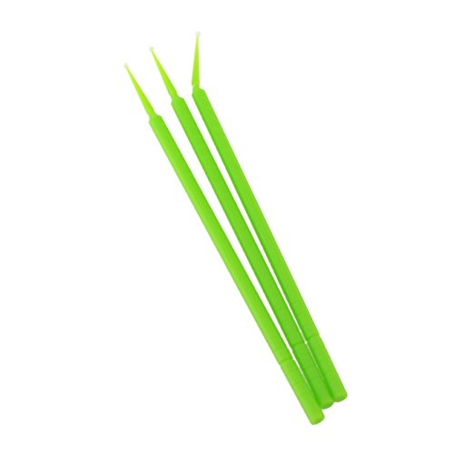 BeeSure BE503T Micro-Applicator Tips, Fine Green (Pack of 400) by BeeSure