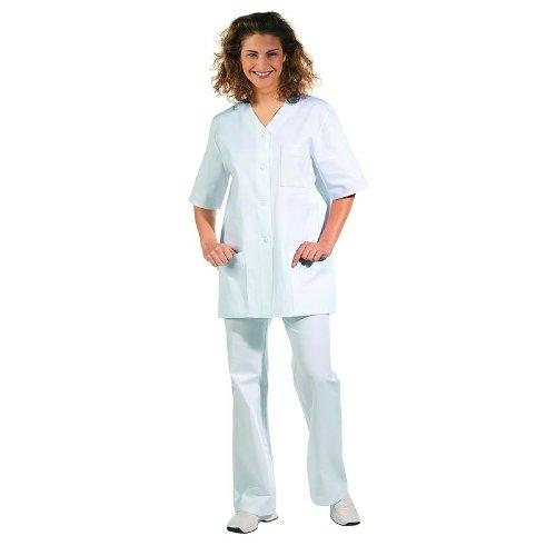 Leiber - Casaca con pantalón Casaca - de Mujer - Manga Corta - Color Blanco Blanco 36: Amazon.es: Ropa y accesorios