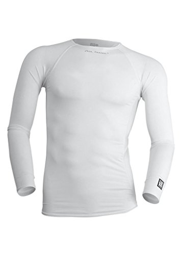 De Soto Sport Men's Skin Cooler LS Tech Top (LSSC) - White; Size: - Cold Shoulder Sunglasses