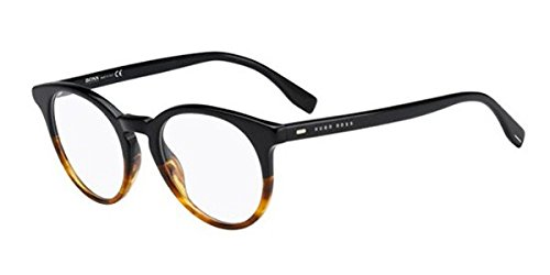 Eyeglasses Boss Black Boss 681 0OHQ Black - Glasses Boss Round Hugo