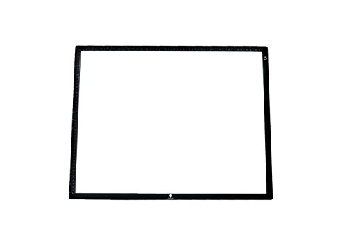 Daylight Wafer 3 LED Lightbox, 18X23.5 inches, Black