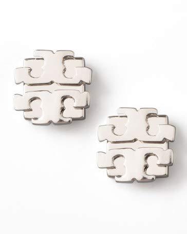 Fashion Silver T Studs Earrings
