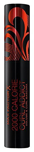 2 x Max Factor 2000 Calorie Curl Addict Mascara 11ml - Black/Brown