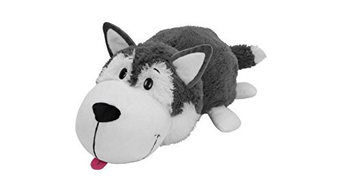Husky Dog to Polar Bear 16 Inches 2 in 1 Collectible Toys