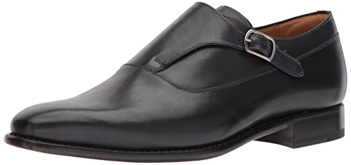 Mezlan Men's Algar Slip-on Loafer, Black, 9.5 US/9.5 M US