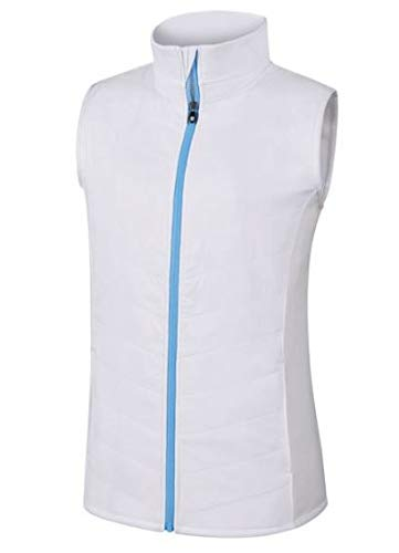 Golf Quilted Vest - FootJoy Full Zip Quilted Hybrid Golf Vest 2018 Women White Large