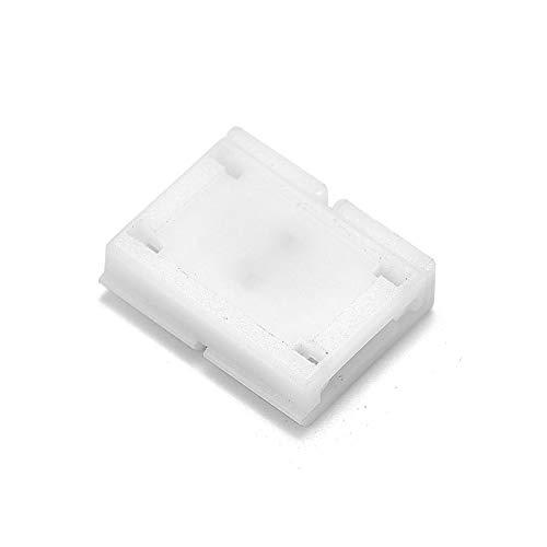Gimax 1000pcs 2 Pin 4 Pin 5 Pin Connectors 8mm 10mm 12mm No Soldering For 3528 2835 5050 RGB RGBW RGBWW LED Strip Lights - (Color: 4 pin 10mm, Connector Type: Panel Connector) by GIMAX (Image #4)