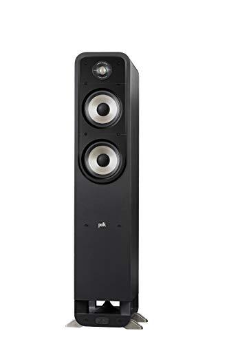 Polk Signature S55e Luidspreker, Zuilluidspreker voor HiFi Home Cinema, Speaker met 200 Watt, Universele Poolklemmen…