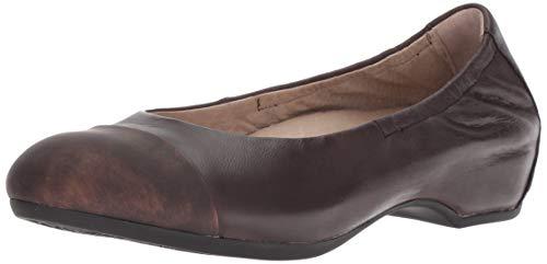 - Dansko Women's Lisanne Ballet Flat, Chocolate Burnished Nubuck, 40 M EU (9.5-10 US)