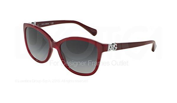 9d6ee7e46d Dolce & Gabbana Gafas de Sol DG 4258 F 29668 G Burdeos 56 - 17 - 140:  Amazon.es: Zapatos y complementos