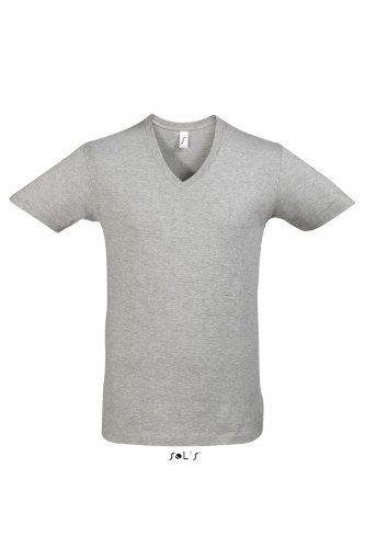 Sols Short Sleeve Tee Camiseta Master - - grey melange