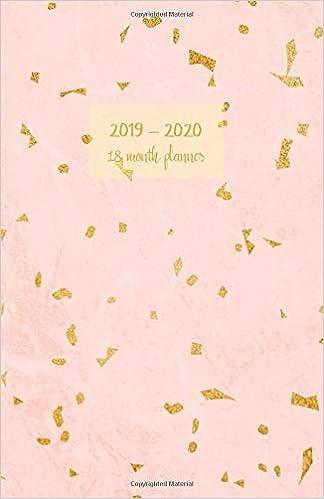 2019 - 2020 18 month planner: July 19 - Dec 20  Monday start