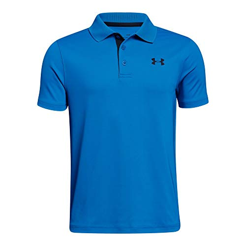 Price comparison product image Under Armour Boys' Performance Polo,  Blue Circuit (436) / Academy,  Youth Medium