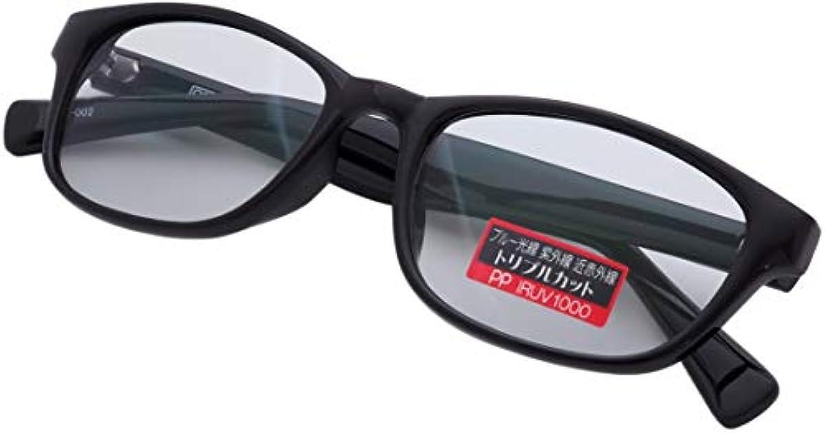 [해외] PPPHENOL PHTHALEIN IRUV1000 썬글라스 맨즈 레이디스 남녀 겸용 블루 라이트 컷 근 적외선 컷 자외선 컷 컬러 썬글라스 화이트내장 예방 사바에 렌즈 AG-002