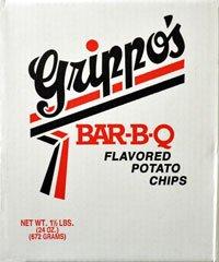 - Grippo's BBQ Potato Chips (1.5lb Box)