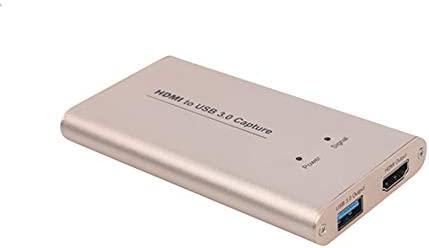 Hfong HDML Tarjeta de Captura de Video Juego, USB 3.0 HD Dispositivo de Captura de vídeo convertidores de Tarjeta de Juego Streaming Live Stream ...