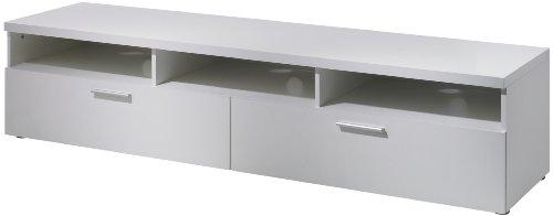 Amazon Com Tvilum 741794949 Hayward Tv Stand White Kitchen Dining