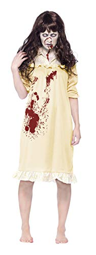Smiffys Women's Zombie Sinister Dreams Costume, Night Dress