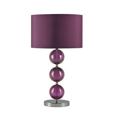 Stacked balls table lamp colour aubergine amazon lighting stacked balls table lamp colour aubergine mozeypictures Image collections