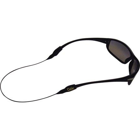 Cablz Original Eyewear Retainer, Black and Yellow with Black Cable, 12-Inch/X-Large, Outdoor Stuffs