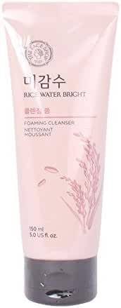 The Face Shop Rice Water Bright Cleansing Foam, 5 Ounce