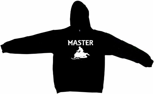 Snowmobile Rider Silhouette Master Men