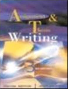 thesis and assignment writing by jonathan anderson