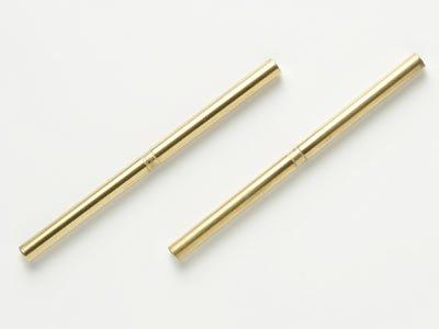 (Tamiya 49.7mm Titan Sus Shaft - 2pcs TA05; P/N 53870)