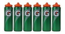 Set of 6 Gatorade Leakproof Green Orange Sport Squeeze Water