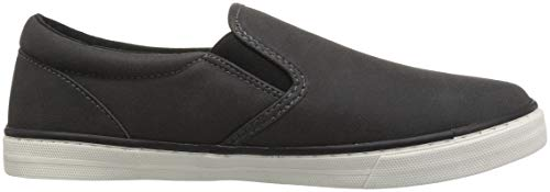 The Children's Place Boys' Slip Sneaker, BLACK02, Youth 1 Child US Little Kid by The Children's Place (Image #7)