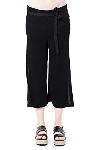 Mujer Mamatayoe Para Pantalones Negro black Nao qPPtrFBU