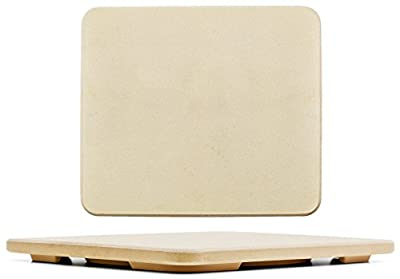 "#1 Pizza Stone - Baking Stone. Rectangular 14""x16"" - Perfect for Oven, BBQ and Grill"