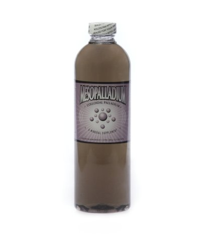 MesoPalladium ™ 10 ppm Colloidal Palladium 500 mL/16.9 Oz