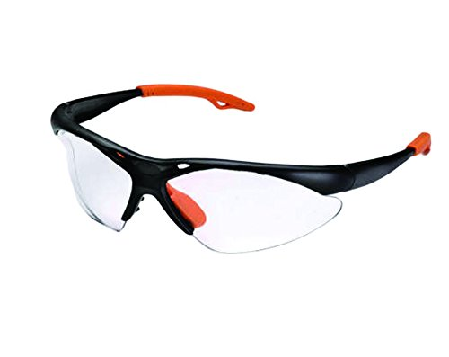 Shark 14342    Clear Safety Glasses Curved Style UV400 Coating