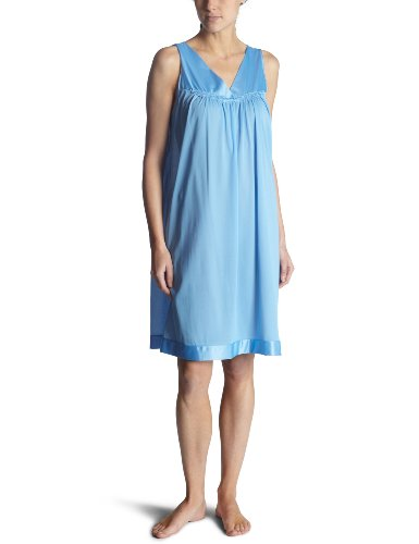 Vanity Fair Womens Coloratura  Short Gown, Purity Blue, Small