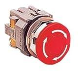 IDEC AVD302N-R SWITCH, EMERGENCY STOP, 2NC, 600VAC