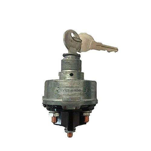 New premium quality Universal Ignition Switch KS6180, US14 LS15 With keys & adj. Nut Heavy Duty Standard Product MADE IN USA ()