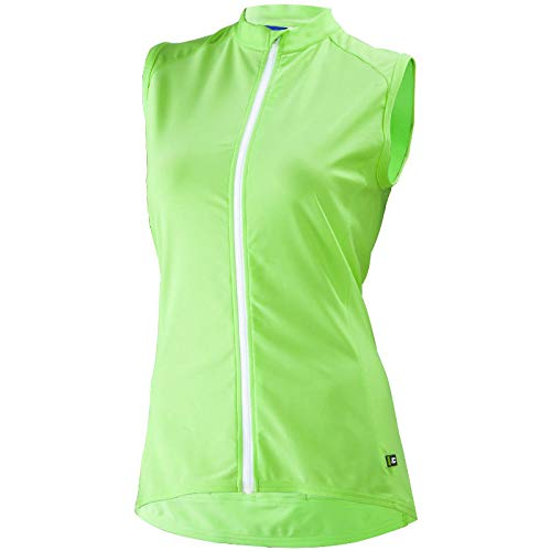 Cannondale Women's Prelude Sleeveless Jersey, Cucumber Frost, ()
