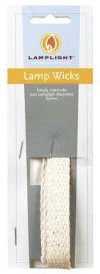 Hooper Lamp Wick Strips 5/8'', 8'', 8'' L X 5/8'' W, Cut To Order Cotton