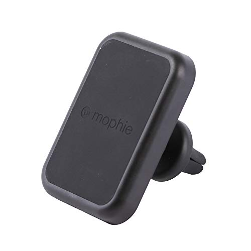 Mophie Wireless Charging Car Vent Mount with Charge Force Wireless Power – Black (Certified Refurbished)