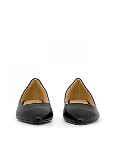 Italia Black Black Ballet Flats Women In Made Ow5FZq