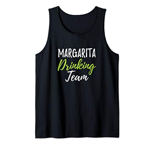 Margarita Drinking Team Funny Cinco De Mayo Drinking Tank Top