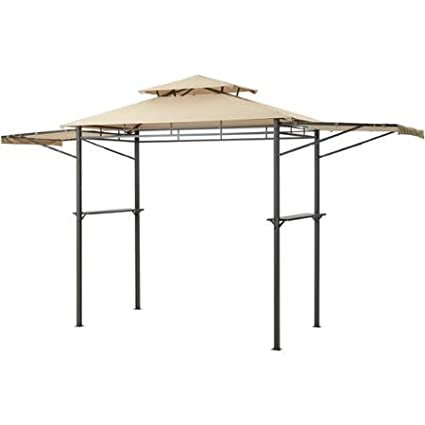 8u0027 x 4u0027 Mainstays Grill Gazebo with Adjustable Awning with Fire Proof Cover  sc 1 st  Amazon.com & Amazon.com: 8u0027 x 4u0027 Mainstays Grill Gazebo with Adjustable Awning ...