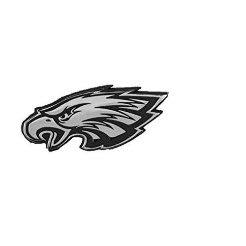 NFL Philadelphia Eagles Chrome Automobile Emblem