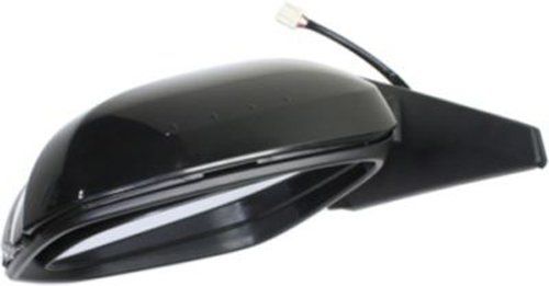 Kool Vue TY155EL-S Manual Folding Heated OE Replacement Driver Side Mirror for Toyota