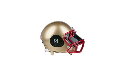 Boston College Football Helmet (NCAA Football Boston College Eagles Wireless Bluetooth Speaker. Officially Licensed Portable Helmet Speaker by NCAA College Football - Small)
