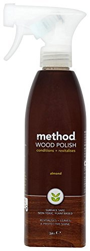 (Wood For Good Surface Cleaner - Almond, 2 x 12 oz Method Cleaning)