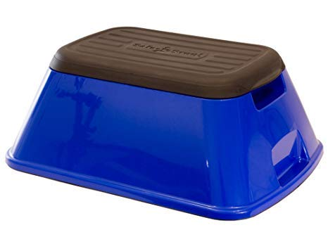 Safe-T-Stool the Safest, Most Versatile Stool in America (GLOSSY BLUE)