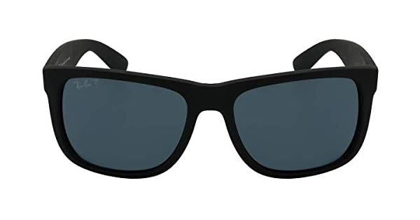 Óculos de Sol Ray Ban Justin L Rb4165l 622 2v 55 Preto Polarizado   Amazon.com.br  Amazon Moda ca1cb6249a